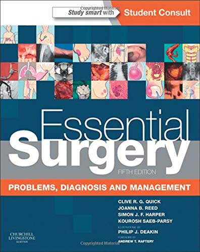 Essential Surgery: Problems, Diagnosis and Management With STUDENT CONSULT Online Access