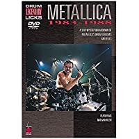 Legendary Drum Licks: Metallica 1983 – 1988 (DVD). Para Percusión