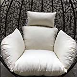 Coperta della Sedia del Patio Hanging 210D Impermeabile Oxford Tessuto Traspirante Swing Egg Chair Mobili da Giardino Coperchio di Protezione 190x115CM Nero