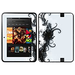 Diabloskinz Vinyl Adhesive Skin Decal Sticker for 8.9 inch Amazon Kindle Fire HD - Overture