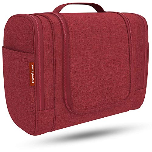 Travelaner Kulturbeutel Comfort [Design 2019], Kulturtasche zum Aufhängen für Damen, Herren und Kinder, Große Kosmetiktasche mit 7 Liter Stauraum, Waschtasche, Waschbeutel in Premium-Qualität