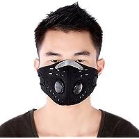 Isuper Unisex Anti-Polvo Anti-contaminación del Filtro de Aire máscara Facial Transpirable para Montar en Bicicleta de equitación