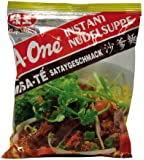 A-ONE Instantnudeln, Satay, (BBQ), 30er Pack (30 x 85 g Packung)