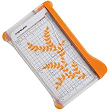 Fiskars 9913 - Guillotina de derivación, 22 cm, A5, color multicolor