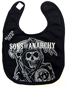 Sons of Anarchy SOA Subliminal Reaper Baby Bib