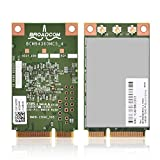 Richer-R Wireless WLAN-Karte, Universal 1300Mbps 5GHz Drahtlose Mini PCi-E Wifi Karte 802.11a / b/g / n/ac WLAN Karte Adapter,Unterstützung Win7 PC/Laptop usw.