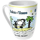 "Sheepworld 59237 Lieblingstasse ""Relax-Tasse"", Porzellan"