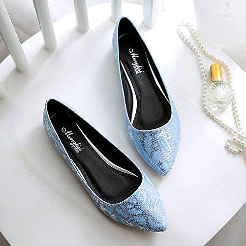 &qq Appartement avec des chaussures professionnelles, chaussures plates pour femmes, scoop peu profond, chaussures antidérapantes femmes enceintes 42