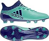 adidas Herren X 17.1 FG Fußballschuhe, Blau (Aerver/Tinuni/Vealre 000), 42 2/3 EU