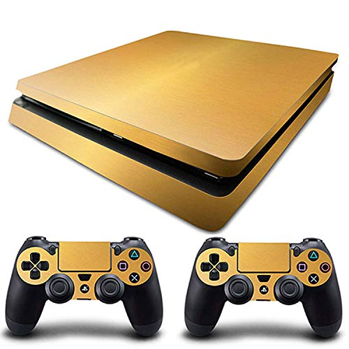 Price comparison product image WELLDRESSED PS4 Slim Skin 5 Styles Vinyl Decal Custom Sticker Cover For Playstation 4 Slim Console and Controller Skin PS4 Silm, Style04