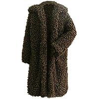 JiaMeng Abrigo Grueso Grueso Abrigo sólido Abrigo Exterior Chaqueta de Abrigo Chaqueta de Punto con Capucha suéter Abrigo