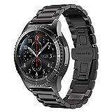 Gear S3 SmartWatch Correa, iBazal Gear S3 Frontier / Classic Watch Correa 22mm Pulsera de Me...