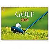 Kalpa Le Golf 2019 Mensuel Calendrier Mural Belle Agenda Organisateur Pour Calendriers Muraux Pour Bureaux À Domicile 2019