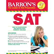 Sat, 25th Ed (Barron's SAT)