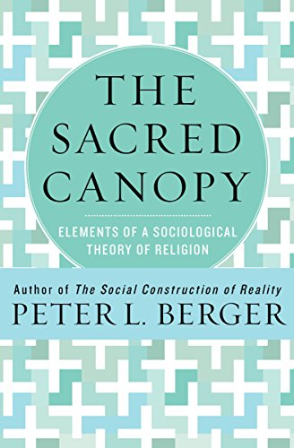 The sacred canopy elements of a sociological theory of religion the sacred canopy elements of a sociological theory of religion by berger peter fandeluxe Gallery