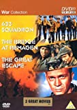 The War Collection - 633 Squadron / The Bridge At Remagen / The Great Escape [DVD] by Cliff Robertson