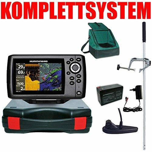 Humminbird Echolot GPS Portabel Master Plus Helix 5 Chirp GPS DI G2 Down Imaging Humminbird Kabel