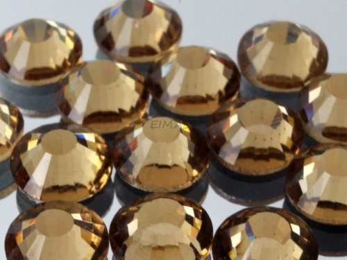 100-x-ss20-48mm-light-colorado-topaz-gold-eimassr-grade-a-hotfix-flat-back-glass-rhinestones-diamant