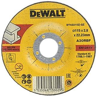 DeWalt DT42210Z-QZ Disco de corte cóncavo para metal para de alto rendimiento