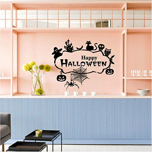 loween Hause Haushaltsraum Wandaufkleber Mural Decor Aufkleber Abnehmbare Neue Wandaufkleber Original Design 2017 Wandtattoo 71 Cm * 58 Cm ()