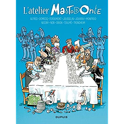 L'atelier Mastodonte - tome 6 - L'atelier Mastodonte 6