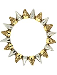 Sweet Deluxe Damen-Armband Messing sweet deluxe Damen Armband Vicky, silber/gold 02700 2700