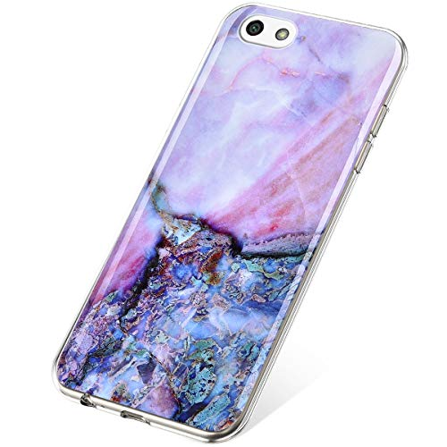 SainCat Funda Compatible Huawei Y5 2018 Case Protector,Glitter