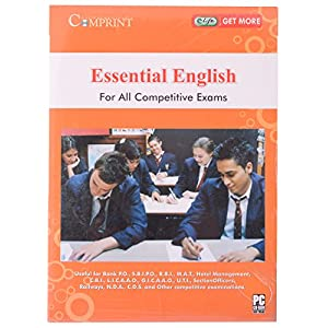 Comprint Essential English Fro All Competitive Exams Cd (Comr53)
