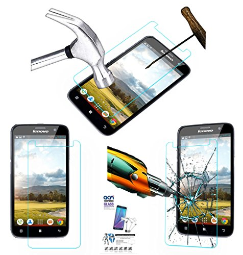 Acm Tempered Glass Screenguard For Lenovo A580 Mobile Screen Guard Scratch Protector  available at amazon for Rs.179