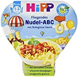 HiPP Fliegendes Nudel-ABC in Bolognese-Sauce, 1er Pack (1 x 250 g)