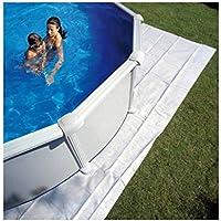 Gre MPROV730 - Tappeto in poliestere per piscina ovale 730x375