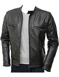 Amazon.co.uk: UK Leather Jackets: Clothing