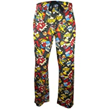 u-wear Mens Biff Pow Simpsons Loungepants in XXL