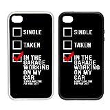 WTF |in der Garage Arbeiten On My Auto | Clip auf Telefon Schutzhülle) |, plastik, schwarz, Samsung Galaxy S4