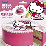 disk zucchero, 16 cm di diametro.