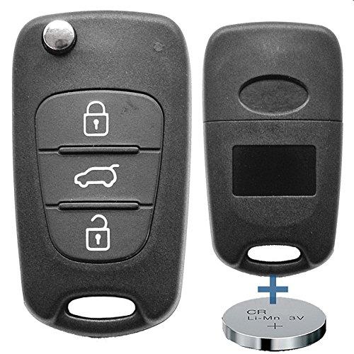 Lanciare di chiave chiave telecomando chiave auto + Batterie per Hyundai/K