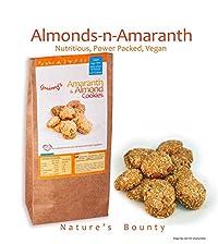 Grainny's Organic Whole-Grain Vegan Amaranth & Almond Cookies (120 gms.)