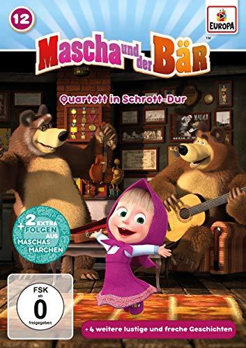Mascha und der Bär 12. Quartett in Schrott-Dur