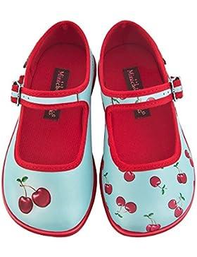 Hot Chocolate Design Mini Chocolaticas Cherry Ballerine Mary Jane Basse da Bambina