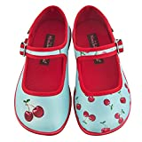 Hot Chocolate Design Mini Chocolaticas Cherry Bailarina Mary Jane para Niñas HCD 25