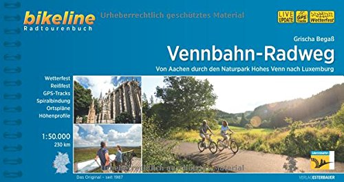 Vennbahn - Radweg Von Aachen durch den Naturpark Hohes Venn 2017 por Grischa Begaß