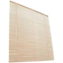 Jago - Persiana veneciana de madera en color natural y de tamaño 110 x 220 cm