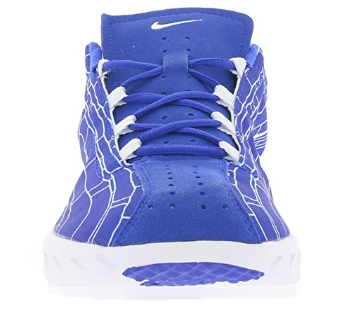Nike Mayfly, Chaussures de Running Entrainement Homme, Noir (Schwarz) Bleu / Blanc (Racer Blue / White)