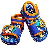 Unbekannt Sandalen / Badeschuhe - Gr. 24 / 25 - ' Disney - Mickey Mouse  - mit Klettverschluss / Fersen Riemchen - Aquaschuhe Antirutsch - Riemchensandalen - Strandsch..