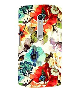 Abstract Painting 3D Hard Polycarbonate Designer Back Case Cover for Motoroal Moto X Style