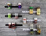 Gewürzregal ohne Bohren Clips - Gewürz Organizer zum Kleben - 6 Streifen für 30 Gewürze