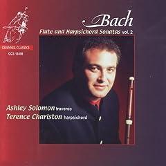 J.S. Bach: Flute and Harpsichord Sonatas Vol. 2