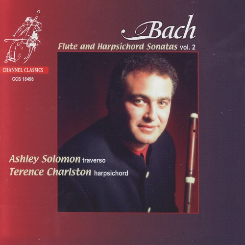 J.S. Bach: Flute and Harpsichord Sonatas Vol. 2