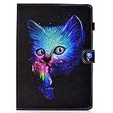 Coopay Pochette Noir Coque Housse pour Tablette Samsung Galaxy Tab 4 10.1 2014...