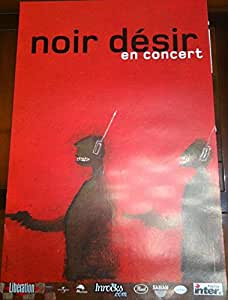 Noir Désir - 40X60 Cm Affiche / Poster